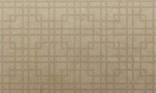 br3079GR - Revestimiento mural geométrico color Capuchino de la colección Brocades Ref. BR3079