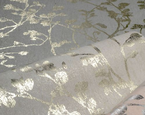22838 Palazzo 10 - Revestimiento mural de ramas oro de la colección Palazzo Ref. PAL5057