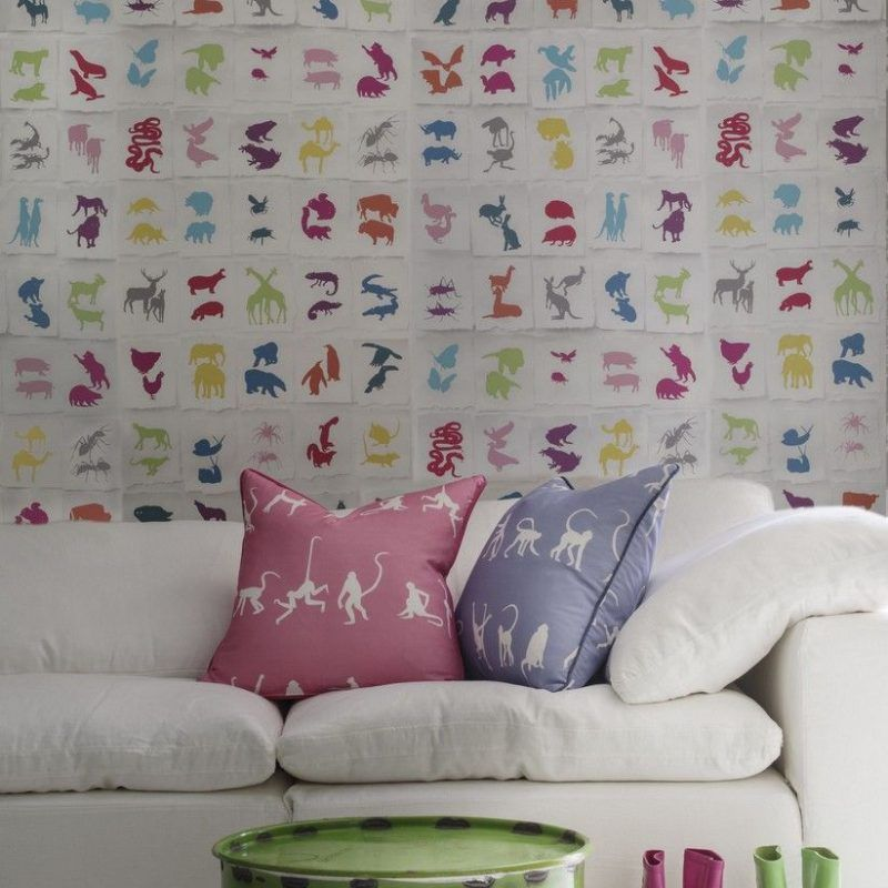 Papel pintado Andrew Martin Two by two multicolor