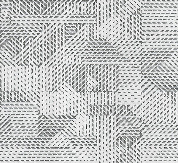 Papel pintado de Arte Oblique 54080 Monochrome