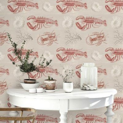 Mind the gap WP20013 - Lobster Taupe ambiente