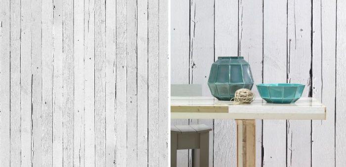 Papel de pared con estilo rústico