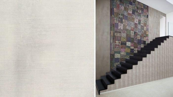 Papel vinílico y con textura colección Heritage de J&V Italian.