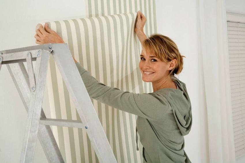papel pintado gotele - ¿Se puede poner papel pintado sobre paredes con gotelé?