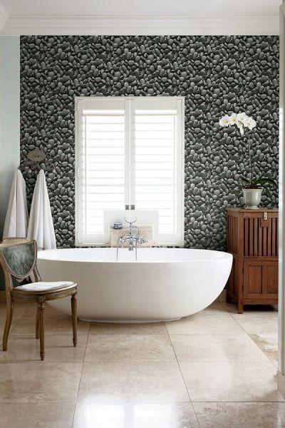 Papeles divertidos para baños pequeños