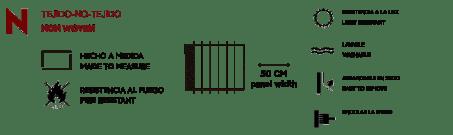 info non woven - MURAL VENTANA RASCACIELOS 6500212 DE RANDOM PAPERS