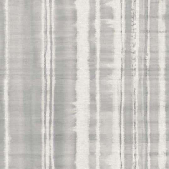 Papel pintado para pared de rayas desiguales en color gris
