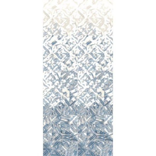 Panel para paredes vinílico en color azul