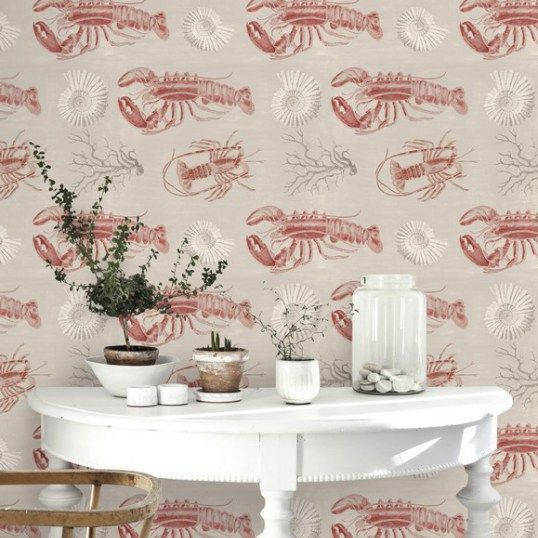 PAPEL PINTADO LOBSTER TAUPE MIND THE GAP