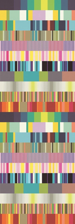 Mural multicolor carta de ajuste