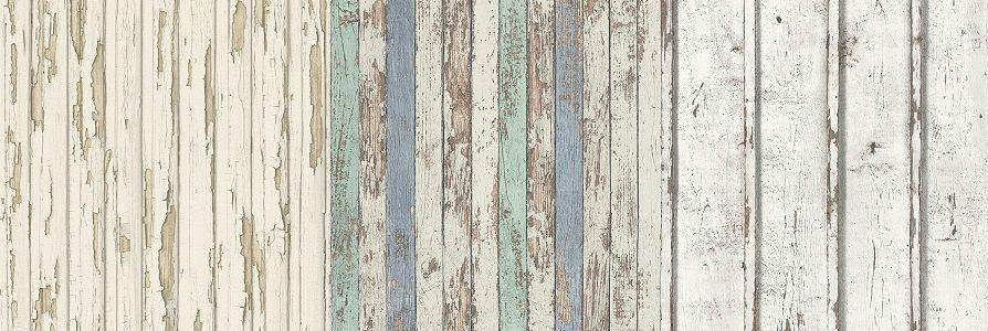 Papeles pintados de tablas de madera - Catálogo Dekora Natur