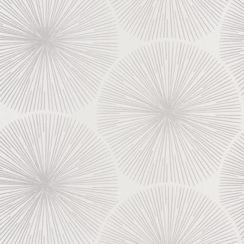 papel de circulos en plata sobre fondo blanco