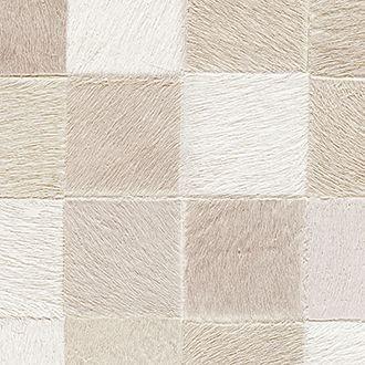 piel de potro en beige para la decoración de paredes