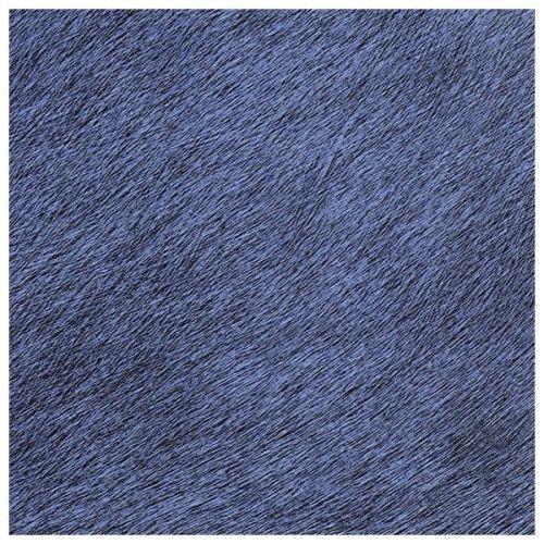 papel vinilico de pelo de potro en azul