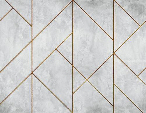 6800626 400X280 cm - MURAL GOLDEN LINE WALL DE RANDOM PAPERS 2. DISPONIBLE EN 2 COLORES