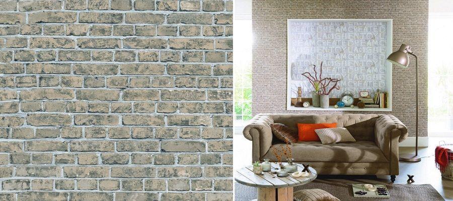 caravista caselio - Papel pintado de piedra: el estilo rústico llega a tu casa