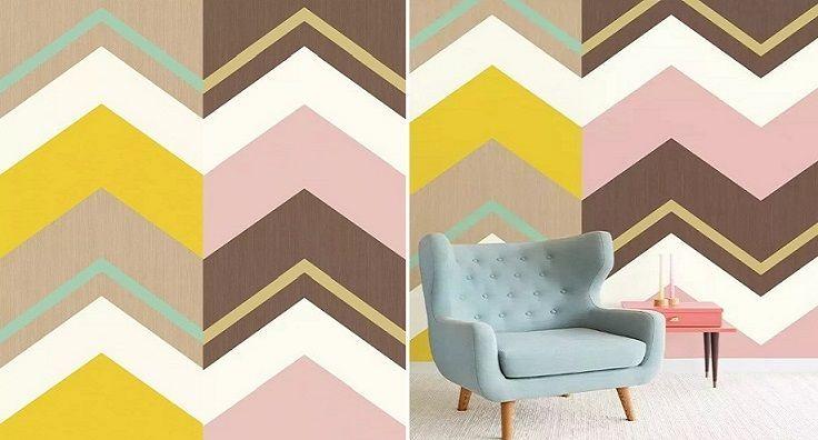 Mural Crisscross - Catálogo Stripes+ de Eijffinger