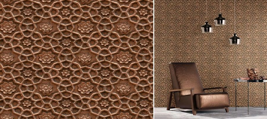 ornamental - Papel pintado de piedra: el estilo rústico llega a tu casa