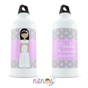 Regalo Personalizado Botella Termo Personalizada Comunión Niña 4