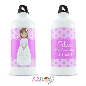 Regalo Personalizado Botella Termo Personalizada Comunión Niña 3