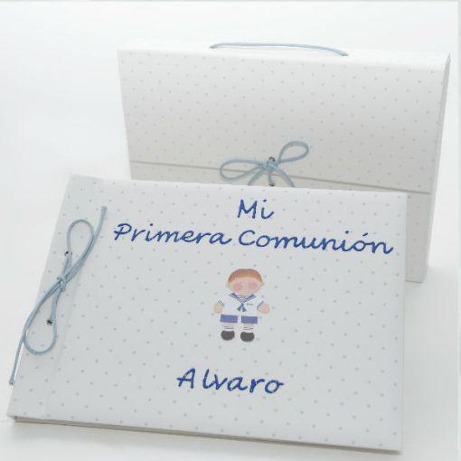 Libro de firmas personalizado para comunión