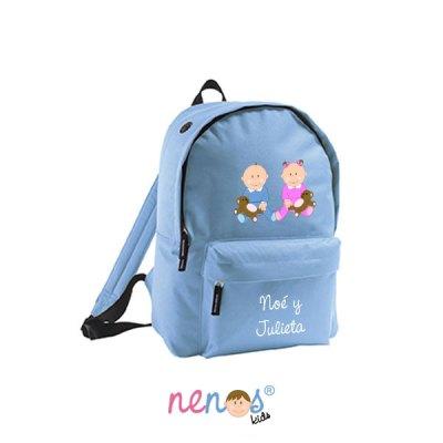 Mochila escolar personalizada Bebé Niña y Niño