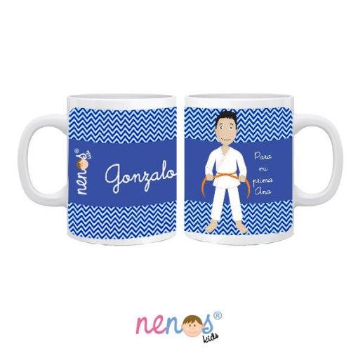 Taza Personalizada Taekwondo Hombre