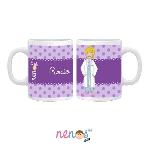 Taza Personalizada Mujer Médico