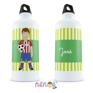 Botella Termo Personalizada Futbolista