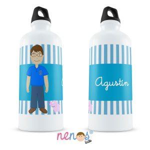 Botella Termo Personalizada Hombre con Cerdito