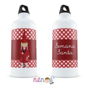Botella Termo Personalizada Nazarena Roja