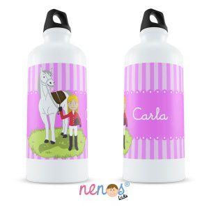 Botella Termo Personalizada Hípica Chica