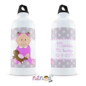 Botella Termo Personalizada Bebé Niña