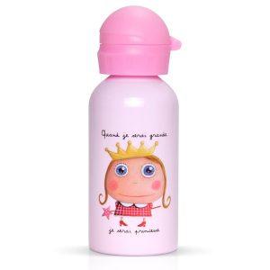 Botella infantil Cuando sea mayor, seré princesa