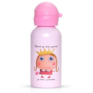 Botella infantil Cuando sea mayor, seré princesa