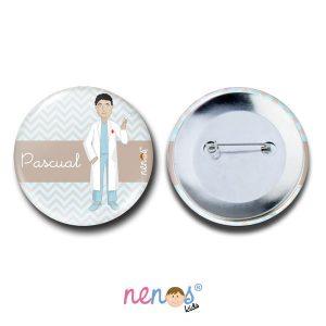 Chapa imperdible personalizada Enfermero