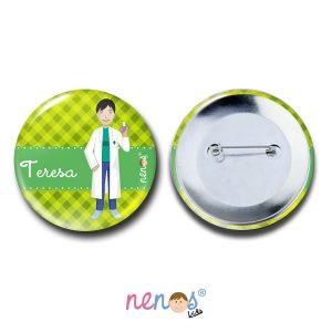 Chapa Imperdible Personalizada Farmacéutica 50mm