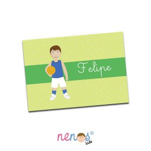Salvamanteles Personalizado Baloncesto