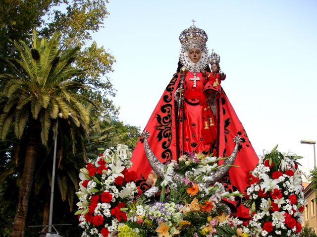 Día de la Fuensanta. La romería.