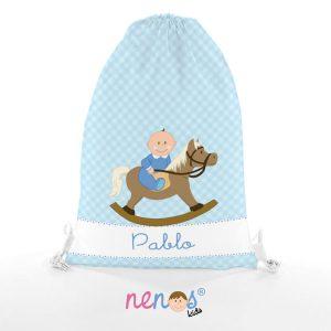 Bolsa de Piscina Bebé Niño Caballito