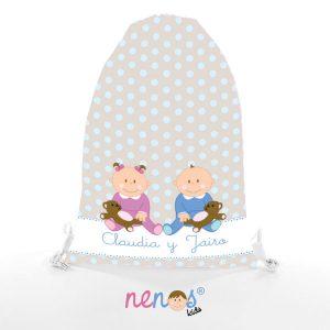 Bolsa de Desayuno Bebés Niño y Niña