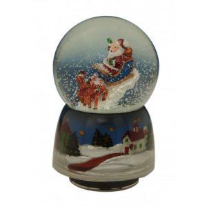 Bola de Navidad Papá Noel Jingle Bells
