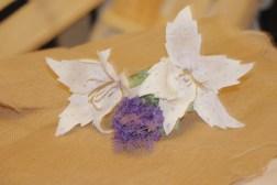 Lilium blanco de papel (7)