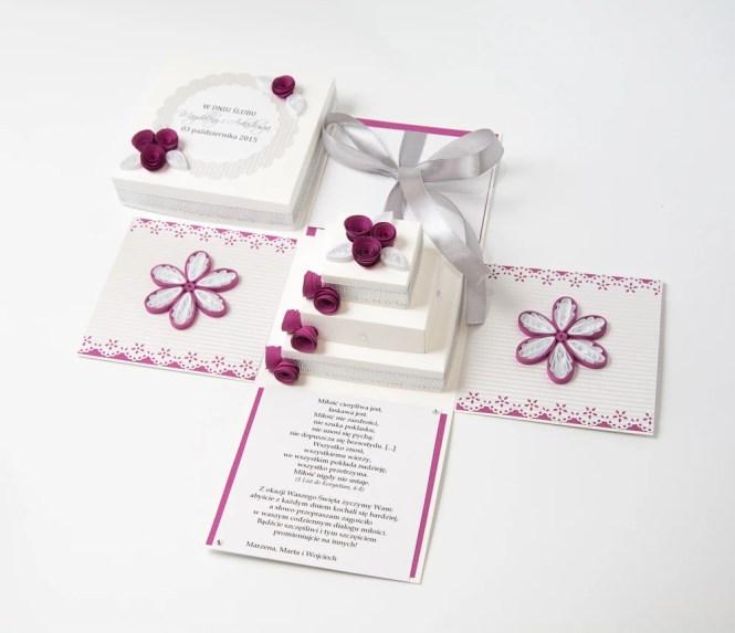 Unique Handmade Wedding Cards Invitations Exploding