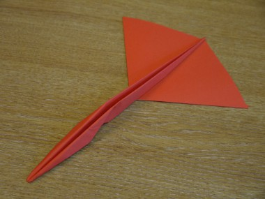 Paper Aeroplanes: The Piranha - Step 14a