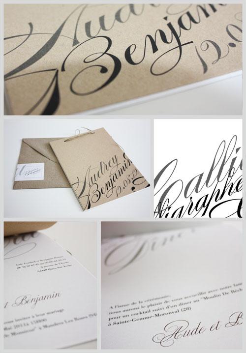 faire-part-de-mariage-ecoresponsable-en-papier-recyclé-theme-calligraphie