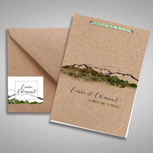 faire-part-mariage-ecologique-en-papier-kraft-theme-montagne-2