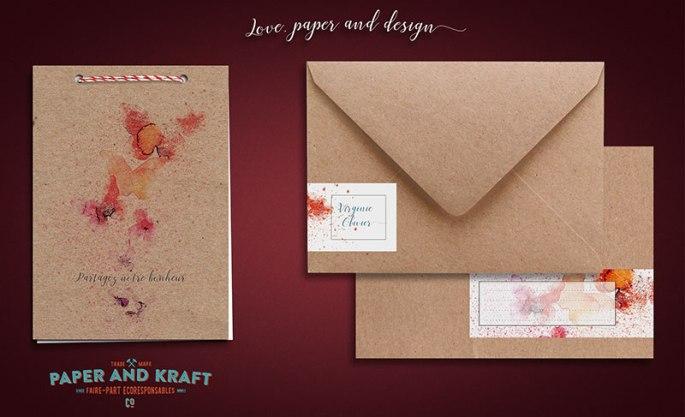 faire-part-mariage-en-papier-recyclé-ecologique-theme-nature-et-papillons