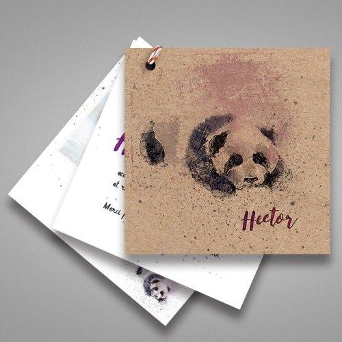 faire-part-naissance-panda-en-papier-kraft-recyclé-ecologique