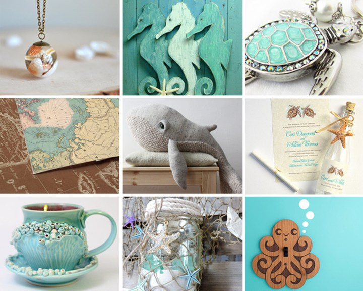 From The Sea – Etsy Collection